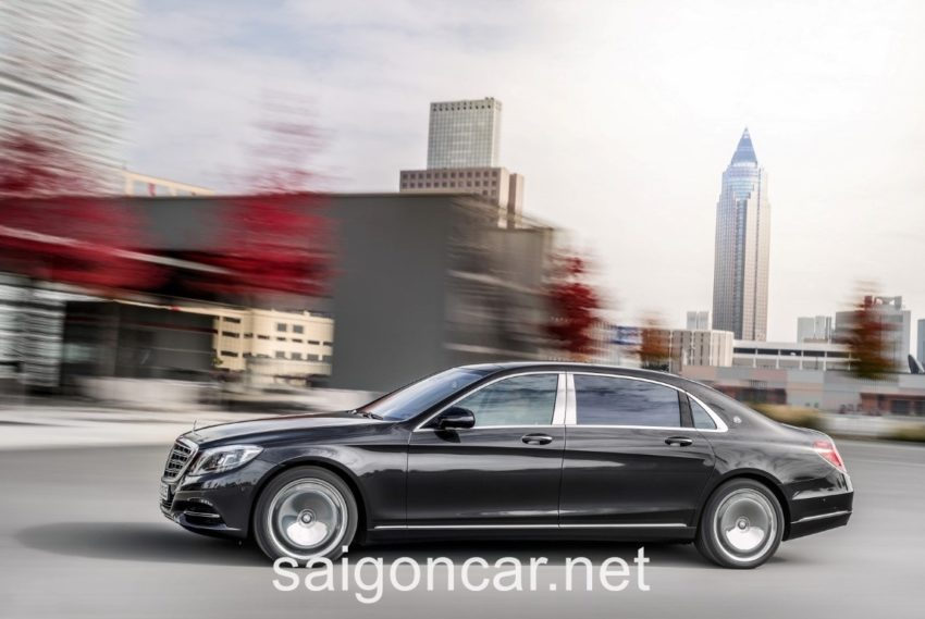 Maybach S 600 Tang Toc