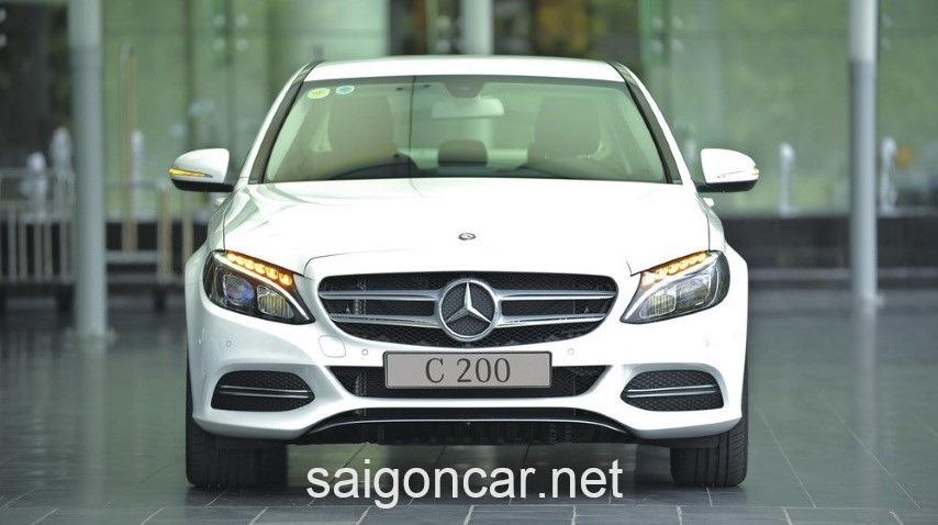 Mercedes C200 Dau Xe 2