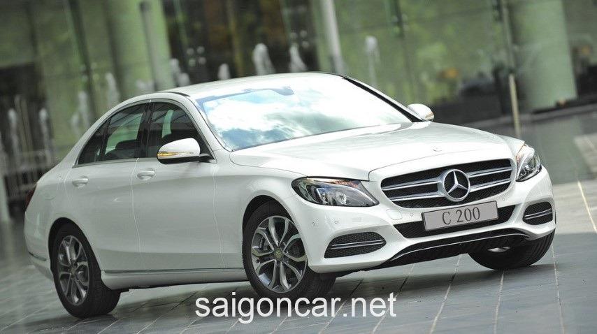 Mercedes C200 Dau Xe