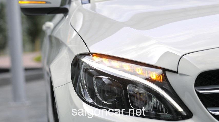 Mercedes C200 Den Led