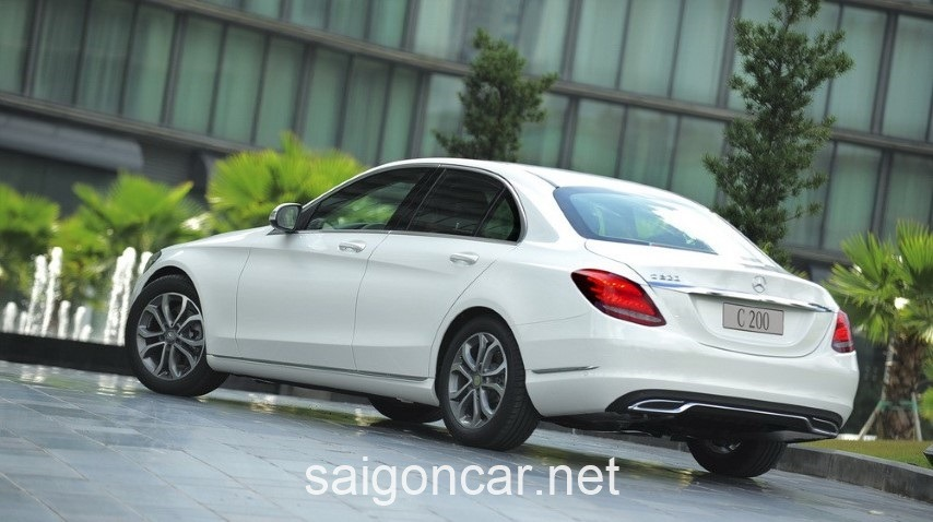 Mercedes C200 Hong Xe