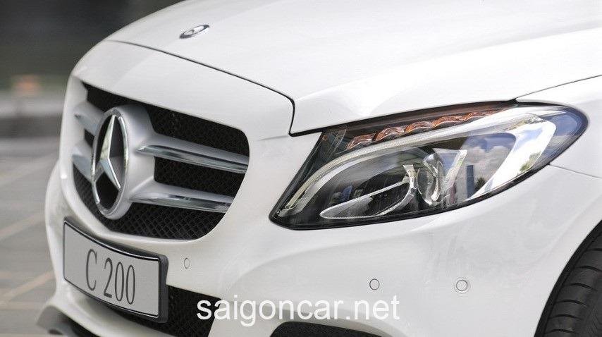Mercedes C200 Luoi Tan Nhiet
