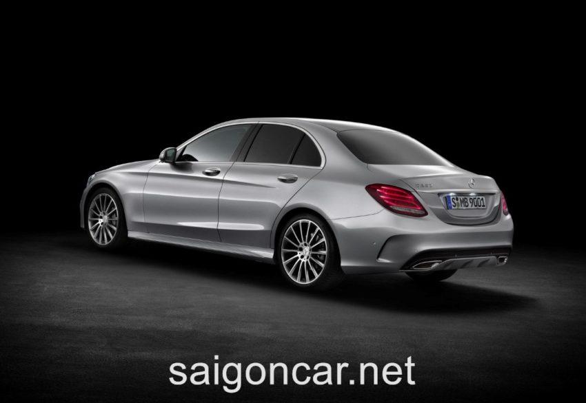 Mercedes C250 Hong Xe