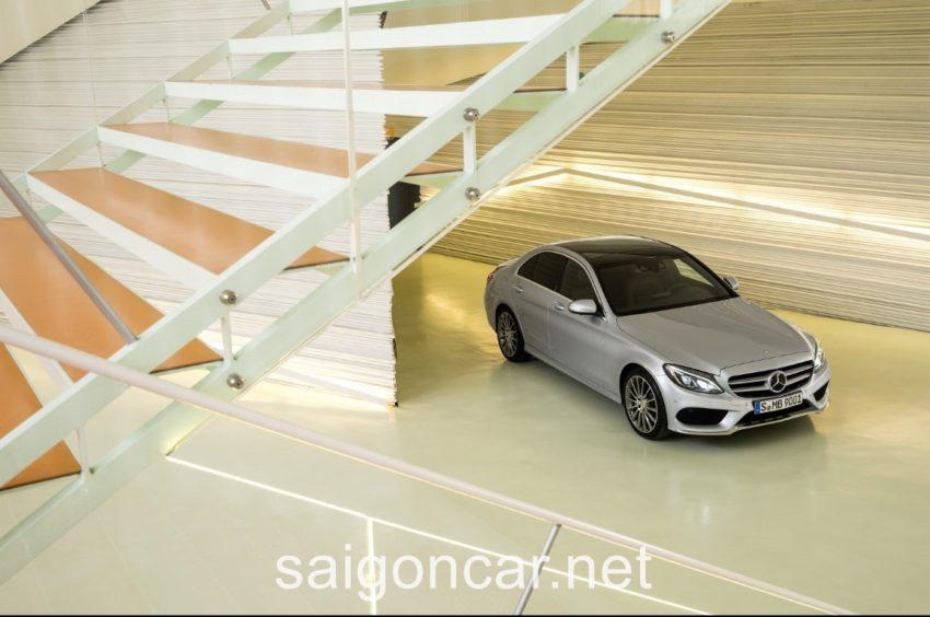 Mercedes C250 Tong Quan