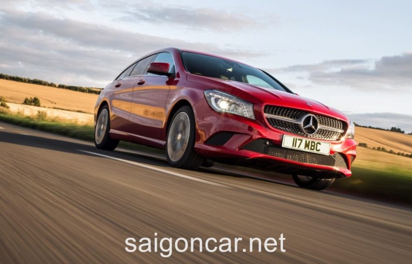 Mercedes CLA 200 Den Xe 2
