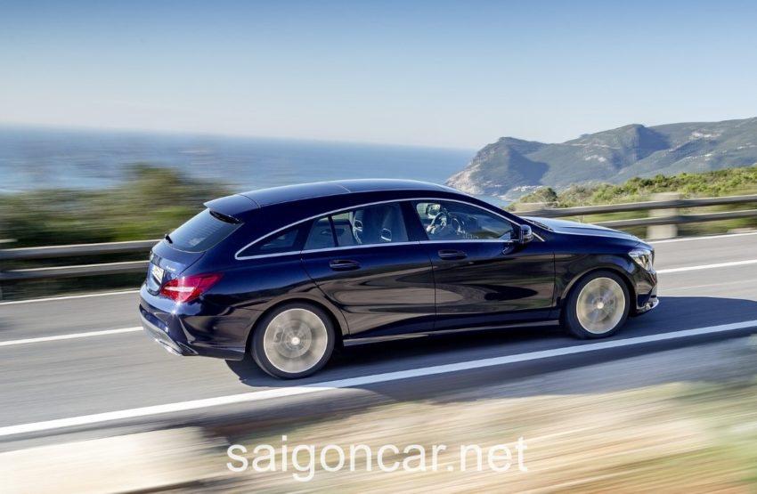 Mercedes CLA 250 Hong Xe
