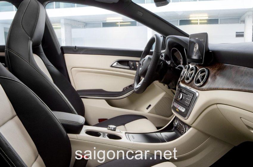 Mercedes CLA 250 Noi That 2