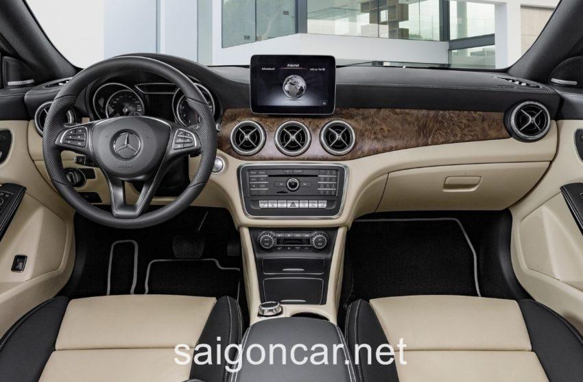 Mercedes CLA 250 Noi That
