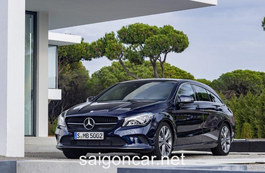 Mercedes CLA 250 Tong Quan