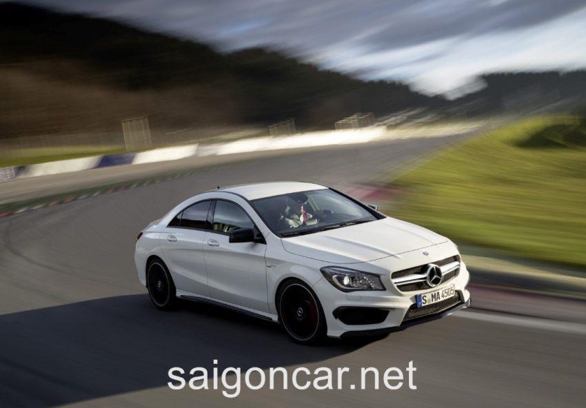 Mercedes CLA 45 Can Bang Dien