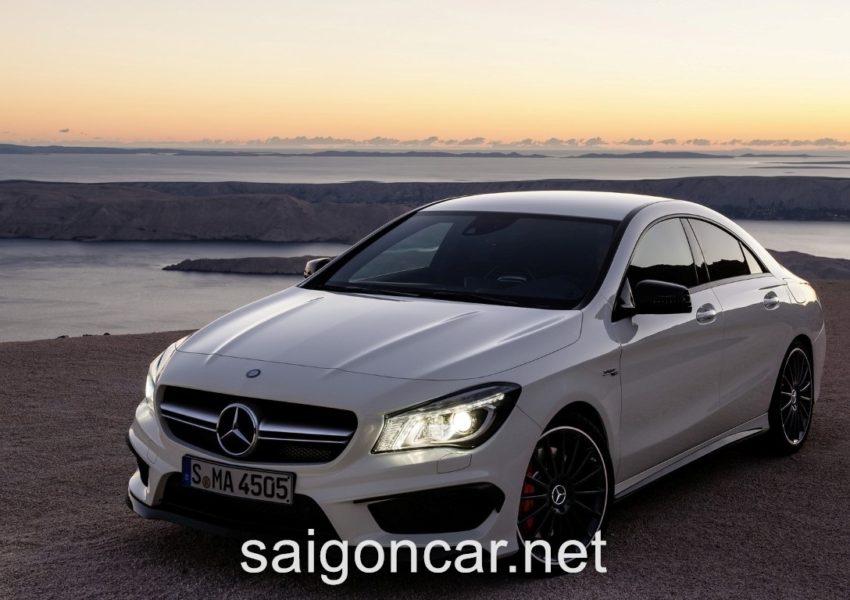 Mercedes CLA 45 Den Xe