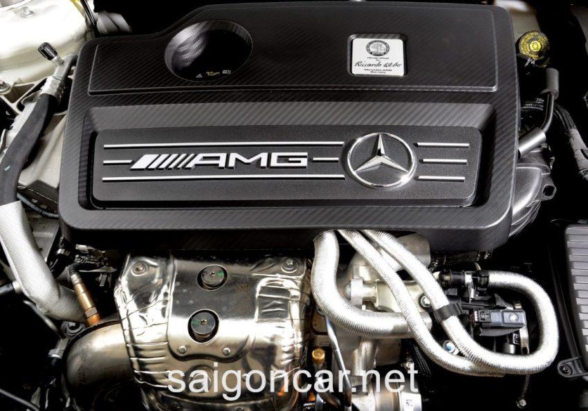 Mercedes CLA 45 Khoang May