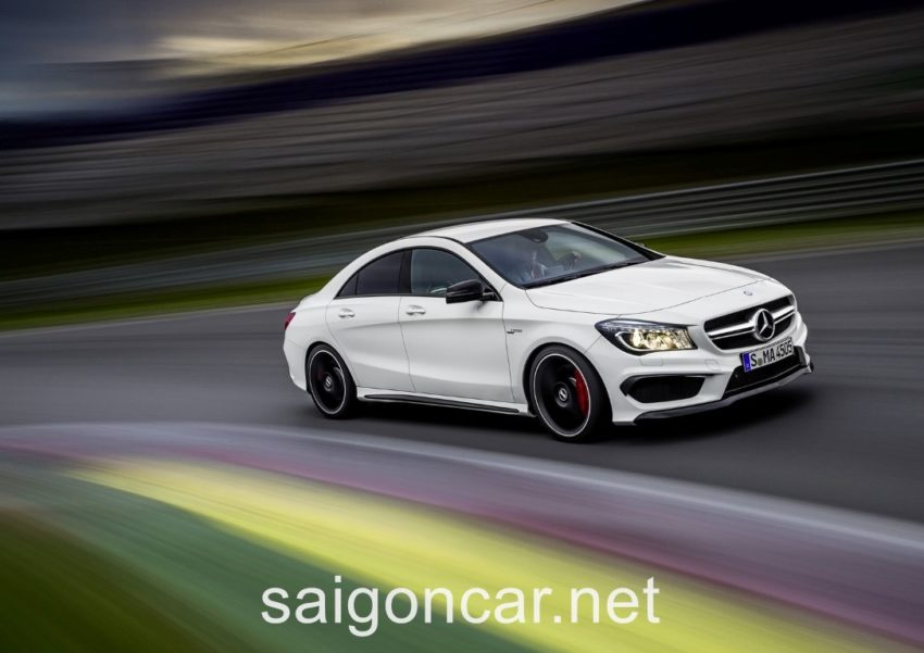 Mercedes CLA 45 Toc Do