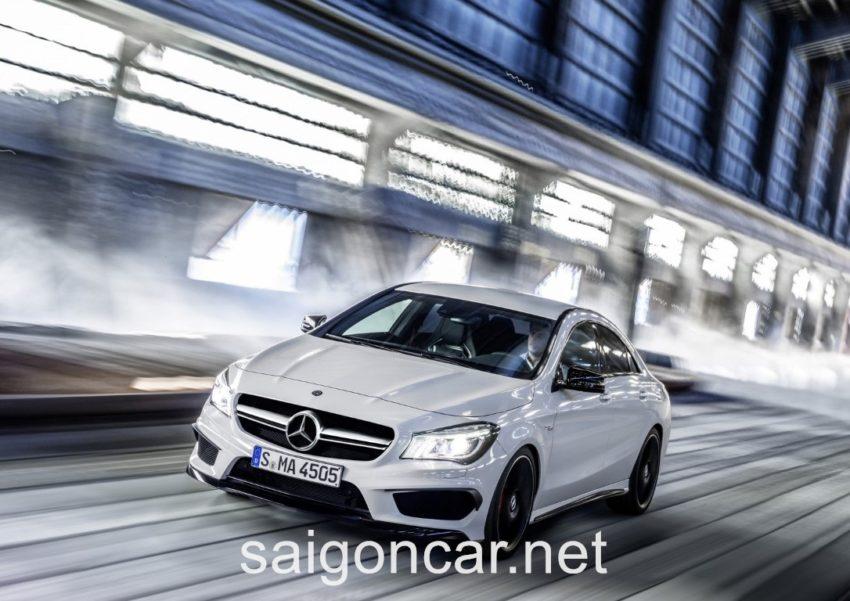 Mercedes CLA 45 Tong Quan 2