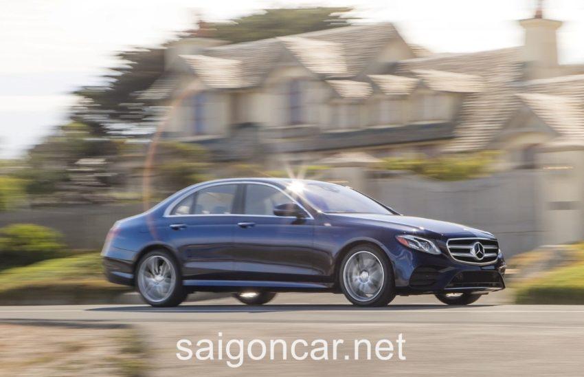 Mercedes E300 Hong Xanh