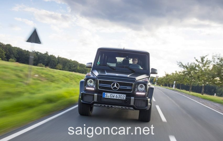 Mercedes G63 Dau Xanh