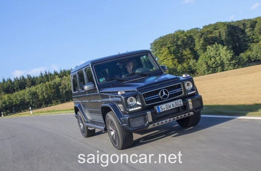 Mercedes G63 Dau Xe