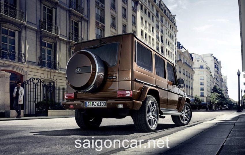 Mercedes G63 Den Sau