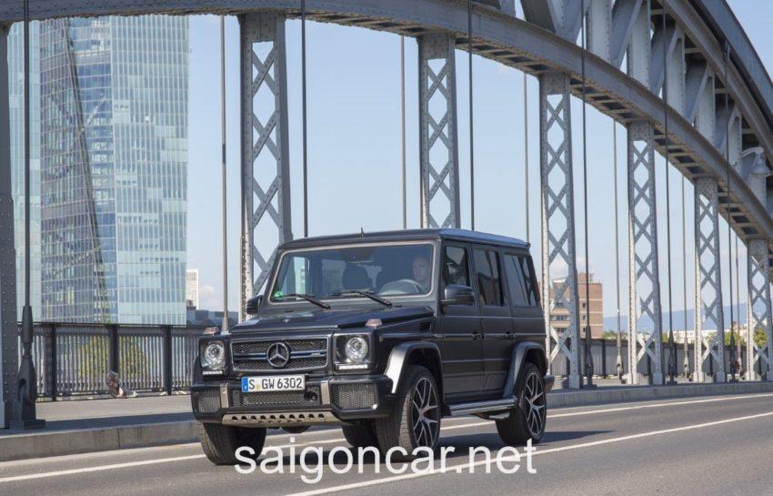 Mercedes G63 Den Truoc