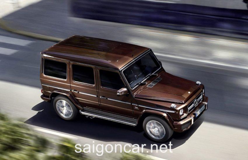 Mercedes G63 Noc Xe