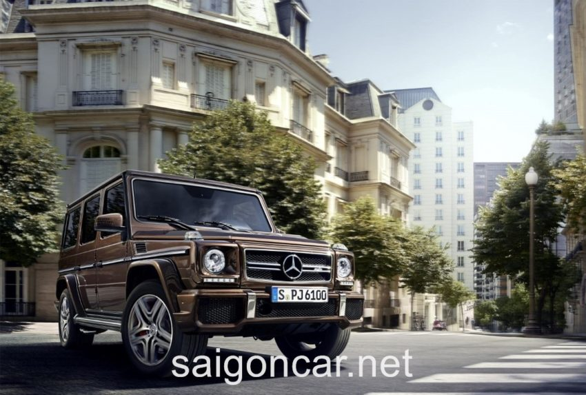 Mercedes G63 Tong Quan