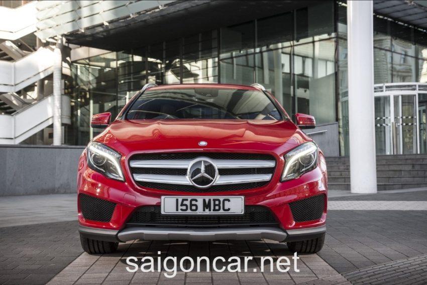 Mercedes GLA 250 Luoi Tan Nhiet