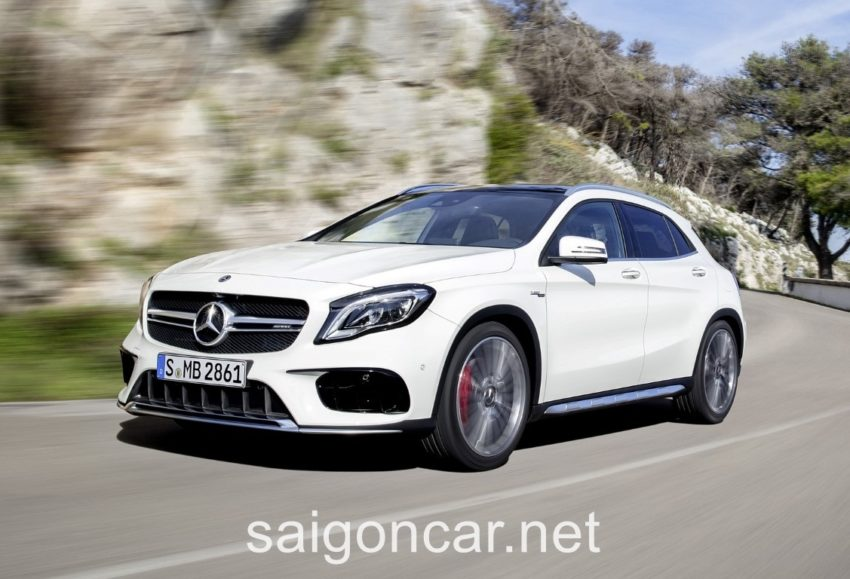 Mercedes GLA 45 Dau Trang