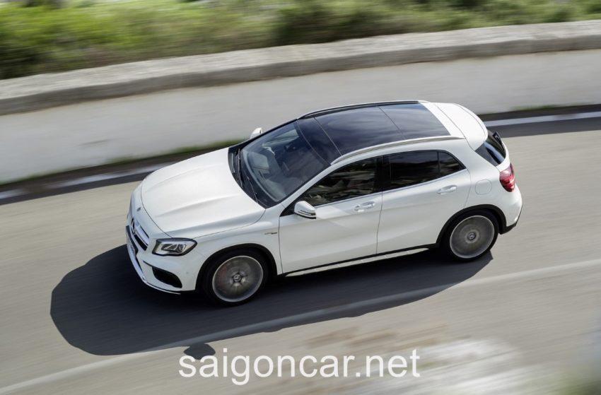 Mercedes GLA 45 Noc Xe