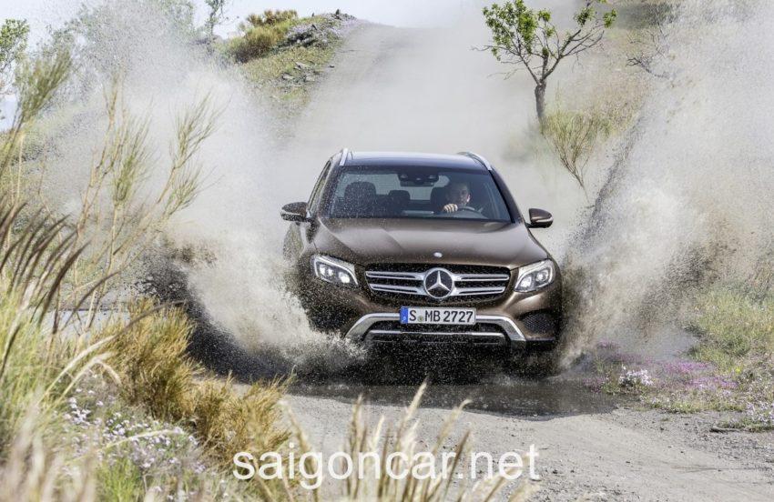 Mercedes GLC 250 Dau Xe