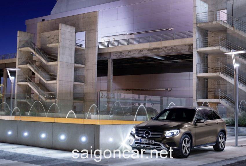 Mercedes GLC 250 Den Xe