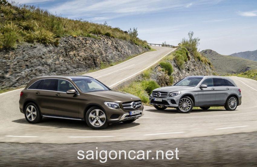 Mercedes GLC 250 Tong Quan