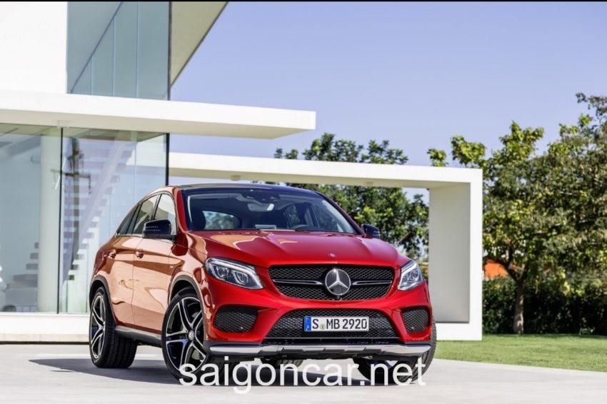 Mercedes GLE 450 Dau Xe