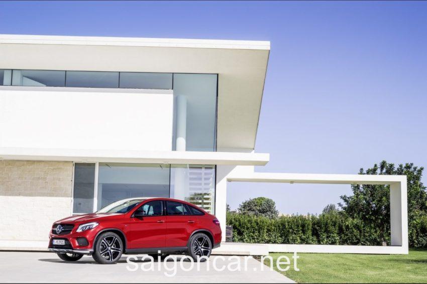 Mercedes GLE 450 Hong Xe