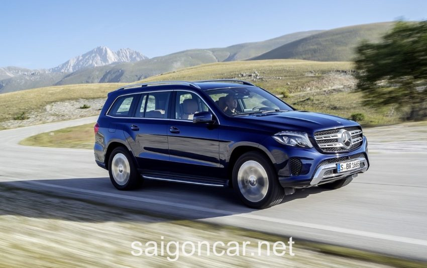 Mercedes GLS 350 Hong Tai