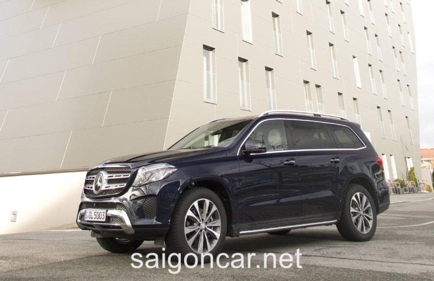 Mercedes GLS 400 Den Truoc