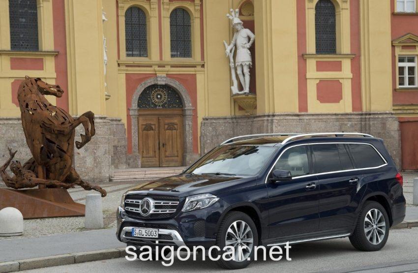 Mercedes GLS 400 Hong Xe