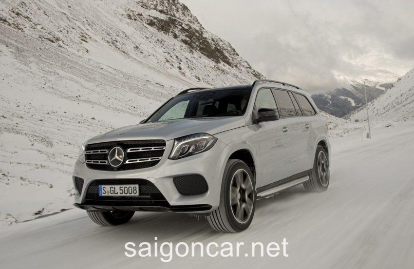 Mercedes GLS 500 Dau Xe 1