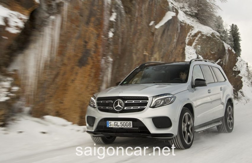 Mercedes GLS 500 Dau Xe