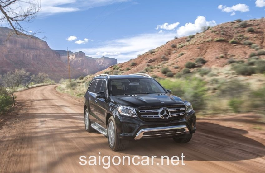 Mercedes GLS 63 Dong Co