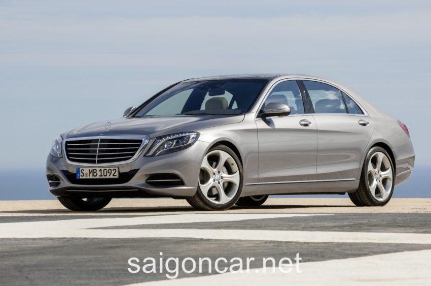 Mercedes S400L Den Truoc