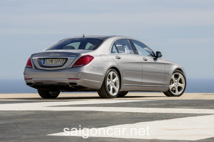 Mercedes S400L Po Xe