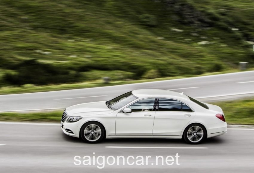 Mercedes S500L An Toan