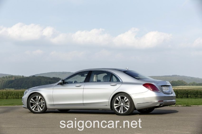 Mercedes S500L Hong Tai