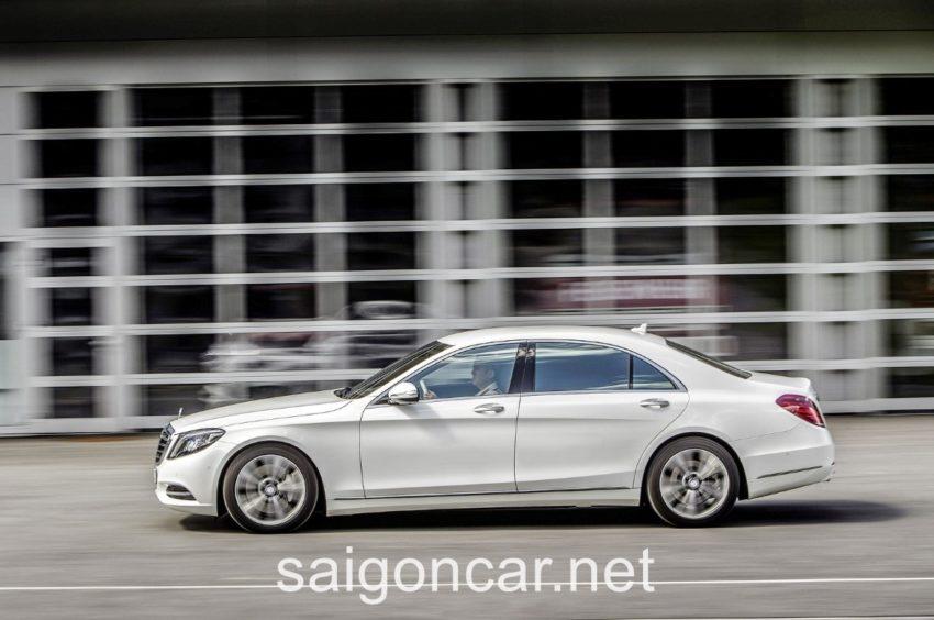 Mercedes S500L Hong Trang