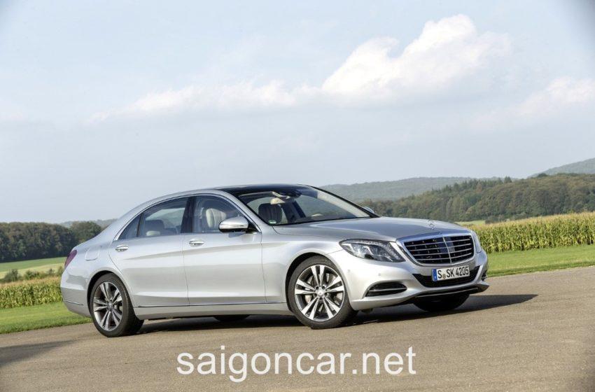 Mercedes S500L Hong Xe