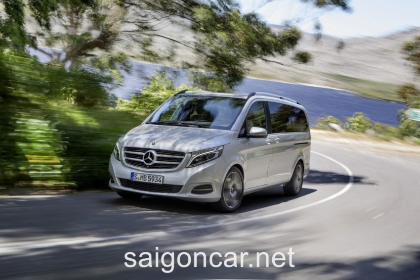 Mercedes V 250 Dong Co 2
