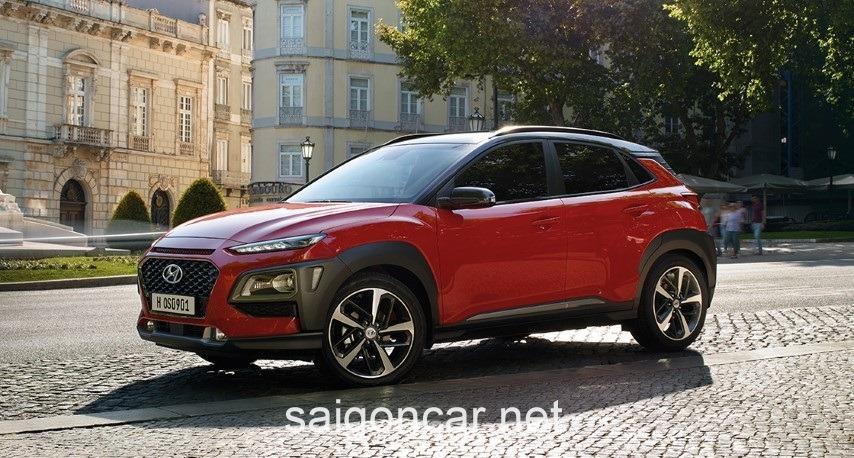 Hyundai Kona Hong Xe