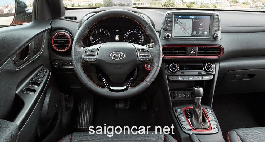 Hyundai Kona Man Hinh