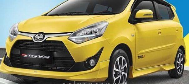 Toyota Wigo 2020 giá xe nhập khẩu ưu đãi khủng giao ngay