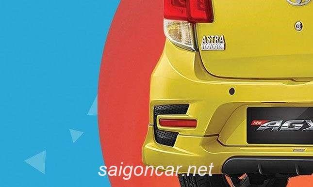 Toyota Wigo Duoi Xe